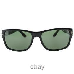 Tom Ford Mason TF445 Black 01N Bold Plastic Sunglasses Frames 58-17-140 FT445